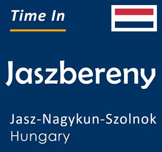 Current time in Jaszbereny, Jasz-Nagykun-Szolnok, Hungary
