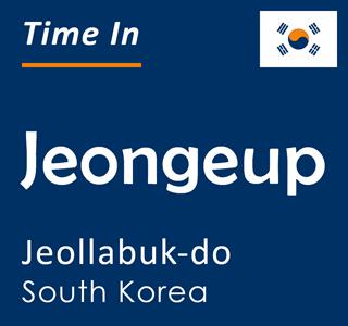 Current time in Jeongeup, Jeollabuk-do, South Korea