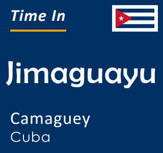 Current time in Jimaguayu, Camaguey, Cuba