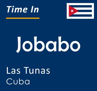 Current time in Jobabo, Las Tunas, Cuba