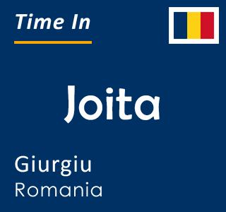 Current time in Joita, Giurgiu, Romania