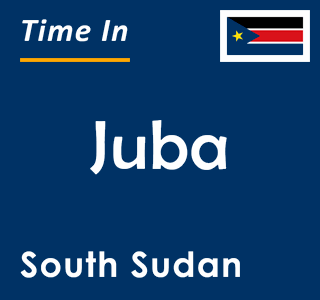Current time in Juba, South Sudan