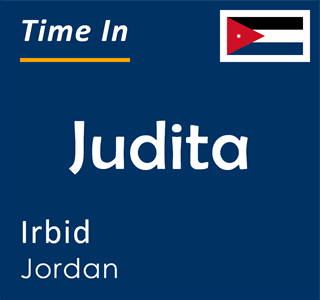 Current time in Judita, Irbid, Jordan