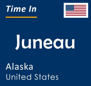 Current time in Juneau, Alaska, United States