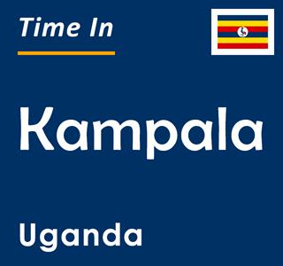 Current time in Kampala, Uganda