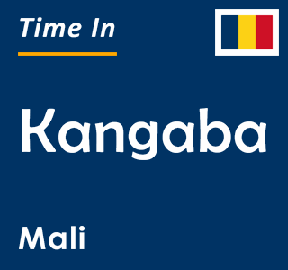 Current time in Kangaba, Mali