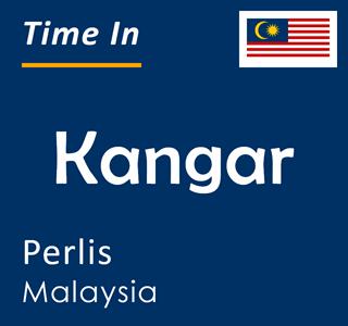 Current time in Kangar, Perlis, Malaysia