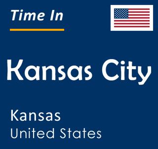 Current time in Kansas City, Kansas, United States