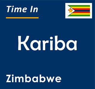 Current time in Kariba, Zimbabwe