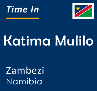 Current time in Katima Mulilo, Zambezi, Namibia