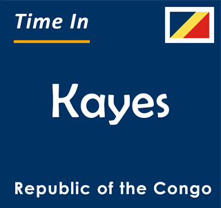 Current time in Kayes, Republic of the Congo