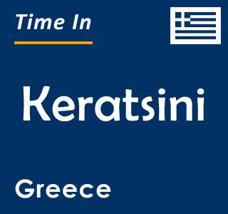 Current time in Keratsini, Greece