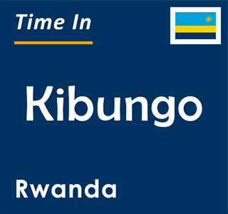 Current time in Kibungo, Rwanda