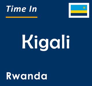 Current time in Kigali, Rwanda