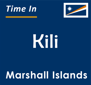 Current time in Kili, Marshall Islands