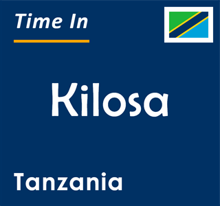 Current time in Kilosa, Tanzania