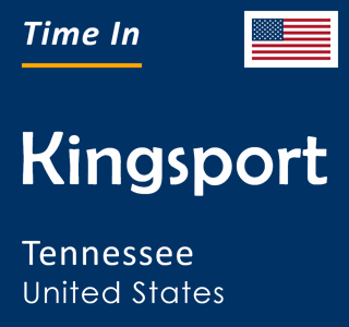 Current time in Kingsport, Tennessee, United States