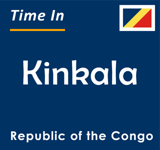 Current time in Kinkala, Republic of the Congo