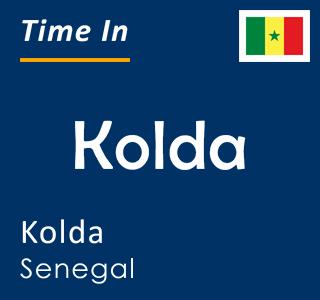 Current time in Kolda, Kolda, Senegal
