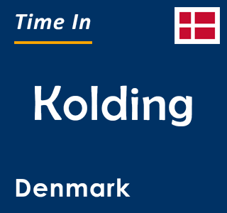 Current time in Kolding, Denmark