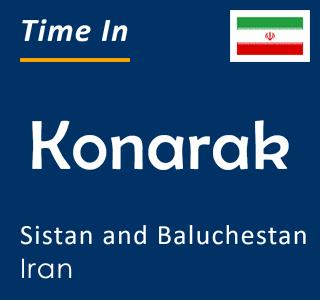 Current time in Konarak, Sistan and Baluchestan, Iran
