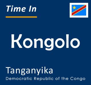 Current time in Kongolo, Tanganyika, Democratic Republic of the Congo