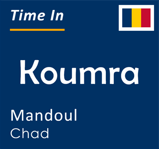 Current time in Koumra, Mandoul, Chad