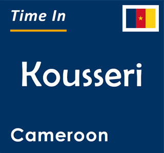Current time in Kousseri, Cameroon