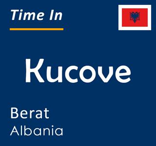 Current time in Kucove, Berat, Albania