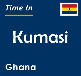 Current time in Kumasi, Ghana