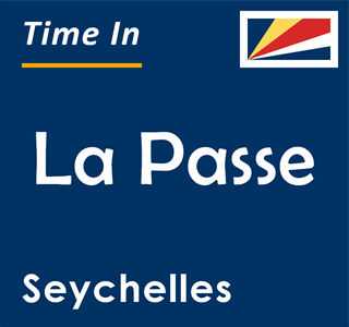 Current time in La Passe, Seychelles
