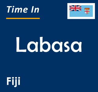 Current time in Labasa, Fiji