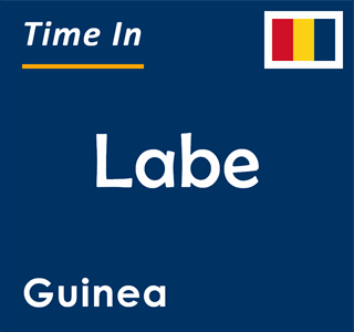 Current time in Labe, Guinea