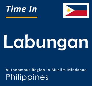 Current time in Labungan, Autonomous Region in Muslim Mindanao, Philippines