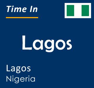 Current time in Lagos, Lagos, Nigeria