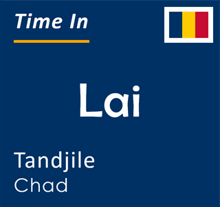 Current time in Lai, Tandjile, Chad