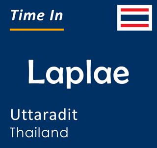 Current time in Laplae, Uttaradit, Thailand