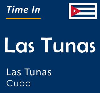 Current time in Las Tunas, Las Tunas, Cuba