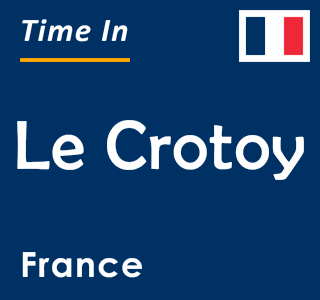 Current time in Le Crotoy, France