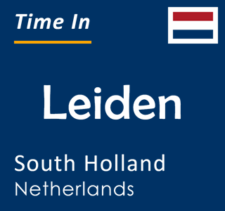 Current time in Leiden, South Holland, Netherlands