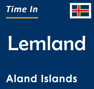 Current time in Lemland, Aland Islands
