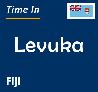 Current time in Levuka, Fiji