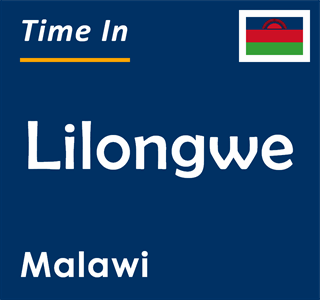 Current time in Lilongwe, Malawi