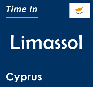 Current time in Limassol, Cyprus
