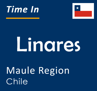 Current time in Linares, Maule Region, Chile