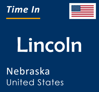 Current time in Lincoln, Nebraska, United States