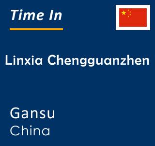 Current time in Linxia Chengguanzhen, Gansu, China