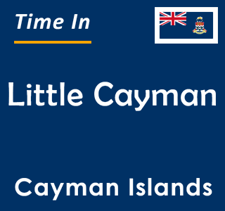 Current time in Little Cayman, Cayman Islands