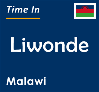 Current time in Liwonde, Malawi