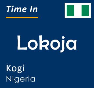 Current time in Lokoja, Kogi, Nigeria